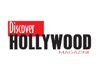 Logo Discover Hollywood Magazine at Festival Chapin
